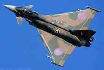Euro fighter typhoon display aircraft