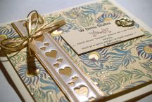 Kartki okolicznościowe, zaproszenia ślubne. / Nasze rękodzieło/our handmade: Greeting cards, wedding invitation cards.