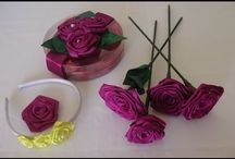 flores de cetim