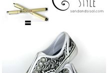 decorated pumps