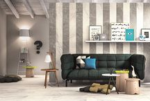Living Room Design / The possibilities are endless. Explore the world of tiles for your living room.