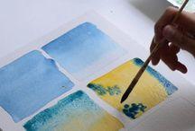 videos apprendre l aquarelle