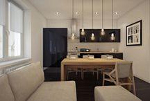 D-6 renovation / change of floor, furniture layout, lights