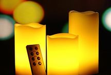 Real wax led Candles with remote control