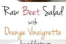 Salade / Salade betteraves