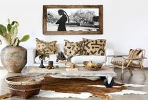 Boho interieur inspiratie / Bohemian Lifestyle interieur