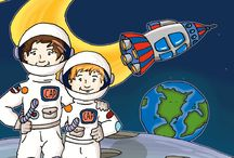 Blast Off! with Gabby and Maddox / Blast Off! is a children's middle grade chapter book. This stand alone story is ideal for ages 6 to 12. It's now available at all major on-line book retailers.