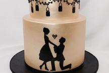 Nişan pastaları / Engagement cake ideas