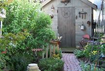garden: shed