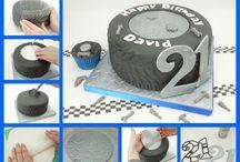 Tårta, Däck