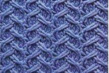 Pletení - vzorky, techniky - knitting patterns