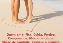 FRASES SOBRE O AMOR.