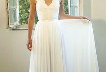 svadobné šaty / v jednoduchosti je krása