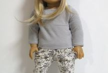American Girl Doll | Crafts / Board with DIY sewing and building craft projects for American Girl doll clothes, accessories and furniture. Including free patterns for doll clothes and more.