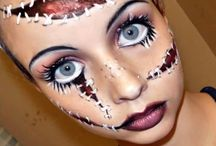 halloween make up / by Josephine DeVivo