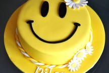 emojis torták