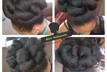 formal natural hairstyles