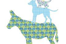 Hippe behangdieren van Inke / De ontwerpen van Inke Heiland zijn vooral bekend van de mooie handgemaakte Behangfiguren van zeldzaam vintage en modern behang, muurprints. Daarnaast ontwerpt zij ook prachtige houten items!  Hippe behangdieren van Inke zijn te koop bij www.lieffeling.nl