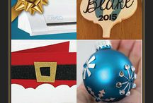 Great Gifts for Christmas / Crafty Ideas for Gifts, Knitting, Silhouette, DIY, Storage, Card making.