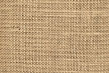 Burlap / Burlap Fabric and its use in fashion, decorating and costume.