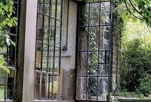 VeranDesign Jardin d'hiver et...metal doors