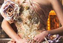 Dress, flowers, fantasy