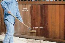 Garden Fences / Oiling Fences