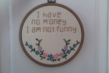 cross stitch-hand embroidery