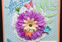 Challenge #2/14 / ** Usare almeno 3 abbellimenti tra questi: -Washi Tape -Fiore -Farfalla -Nastro -Fiocco  ** Use at least 3 embellishments between: -Washi Tape -Butterfly -Flower -Bow -Ribbon