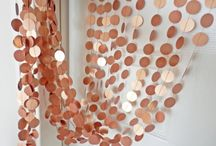 Wedding Color Inspiration: Copper / Farbinspiration: Kupfer und Roségold