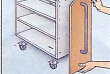 organizar bajo escalera