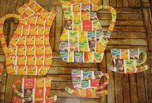 podzimní dekorace děti / Různe´