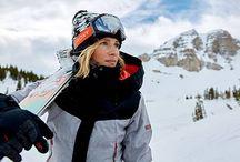 ROXY- Snowgirl  Lena Stoffel / Skimode, Lifestyle, Lena als Model, Roxy-Snow-Team, Skireisen, Japan, Alpen, Skibilder, Skiimpressionen