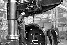 Vintage Machine Shop, Steel, Foundry / Metal Working