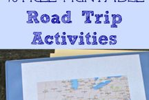 Road Trippin' / Summer means road trips with friends and family! Here are some ideas for car games, songs to include on your playlist and more.