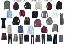 Capsule Wardrobe / Ideas and inspiration for creating your own capsule wardrobe. Inspired by Project 333. Have a closet full of clothes you actually wear and truly love. Not a bad goal! Plus, having fewer clothes means there's less to organize.