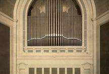 Pipe organs art nouveau