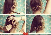 ♥︎ Hair style ♥︎ / Coiffures tressées et autres coiffures