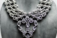 Chain maille - Draped Necklaces / by Shawna Jones
