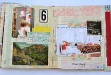 collage and journals / by Marsha Wilson