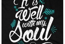 Christian Shirts / Christian t-shirts and tops.  Great gift ideas!