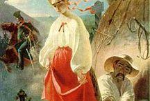 Ukrainian Clothes in Art