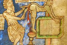 Weird looking medieval people