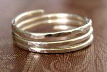 Smykker, ringer og armbånd