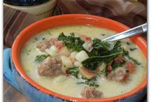 Soups / by Tammy Russell