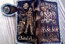 """Bad Boy "" Long Wallet"