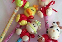 Decoración lápices