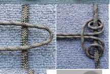 knitting knot  örgü düğüm