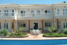 Peace & Plenty Villa / The Peace & Plenty luxury villa sleeps up to 19 people, boasts a private heatable swimming pool, tennis court, BBQ area and is set in Antas, Almeria.