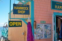 The Hammock Shop / Our iconic colorful shop on the beach in Ptown.